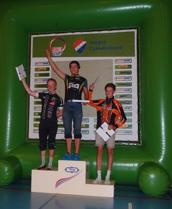 Torjus Bern Hansen ble Norgesmester i terrengsykkelsprint
