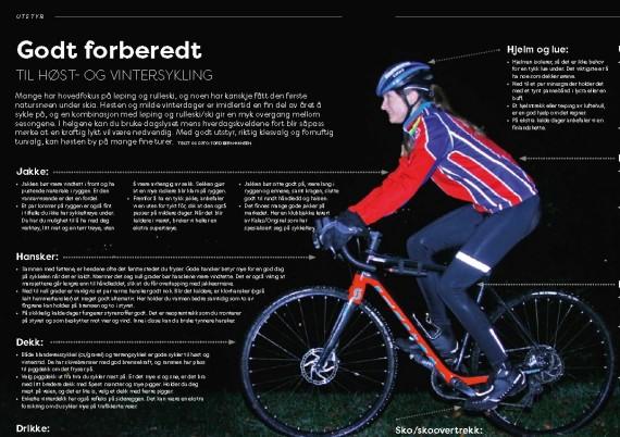 Godt forberedt til høst- og vintersykling