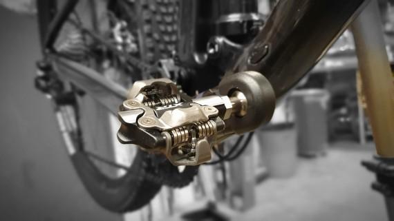 Varer de nye Shimano XTR pedalene litt lengre